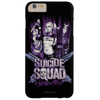 """Suicide Squad   Squad Girls """"In Squad We Trust"""" Barely There iPhone 6 Plus Case"""