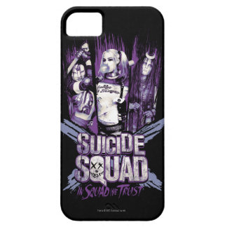 """Suicide Squad   Squad Girls """"In Squad We Trust"""" Case For The iPhone 5"""