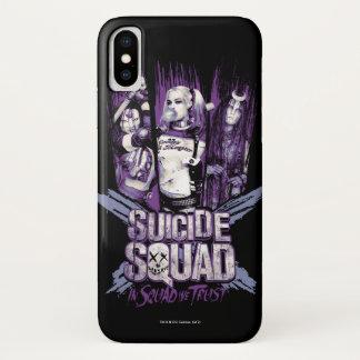 """Suicide Squad   Squad Girls """"In Squad We Trust"""" iPhone X Case"""