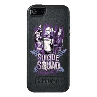 "Suicide Squad   Squad Girls ""In Squad We Trust"" OtterBox iPhone 5/5s/SE Case"