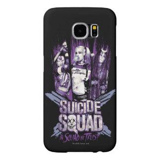 "Suicide Squad   Squad Girls ""In Squad We Trust"" Samsung Galaxy S6 Cases"