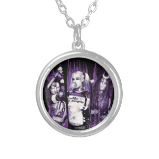 "Suicide Squad | Squad Girls ""In Squad We Trust"" Silver Plated Necklace"