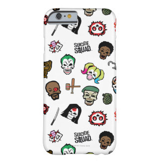 Suicide Squad | Suicide Squad Emoji Pattern Barely There iPhone 6 Case