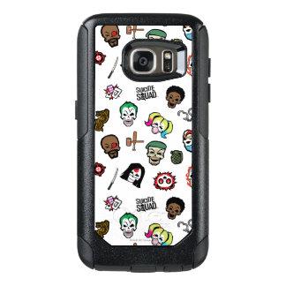 Suicide Squad | Suicide Squad Emoji Pattern OtterBox Samsung Galaxy S7 Case