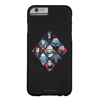 Suicide Squad | Task Force X Checkered Diamond Barely There iPhone 6 Case