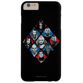 Suicide Squad | Task Force X Checkered Diamond Barely There iPhone 6 Plus Case
