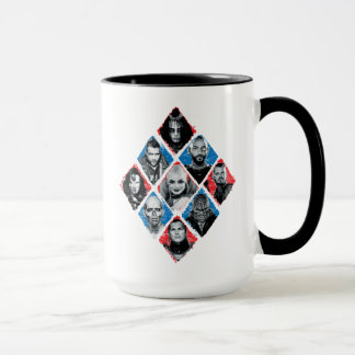 Suicide Squad | Task Force X Checkered Diamond Mug