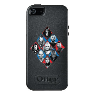 Suicide Squad | Task Force X Checkered Diamond OtterBox iPhone 5/5s/SE Case