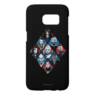 Suicide Squad | Task Force X Checkered Diamond Samsung Galaxy S7 Case