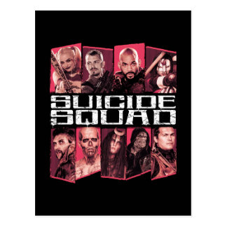 Suicide Squad   Task Force X Group Emblem Postcard