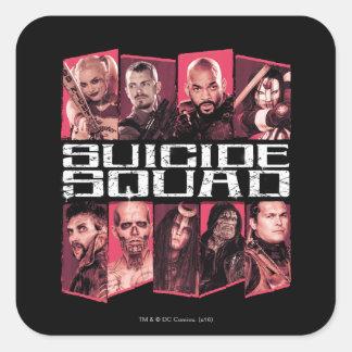 Suicide Squad | Task Force X Group Emblem Square Sticker