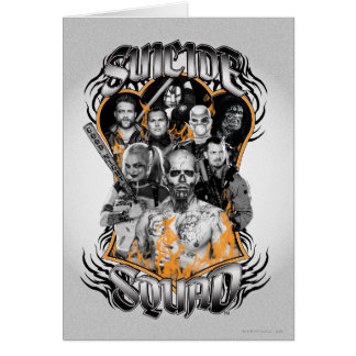 Suicide Squad | Task Force X Tribal Tattoo Card