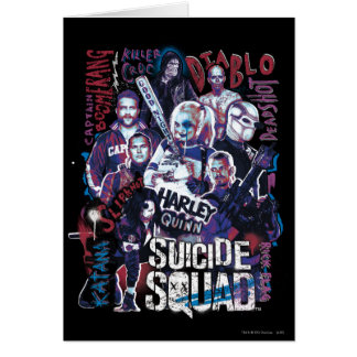 Suicide Squad | Task Force X Typography Photo Card