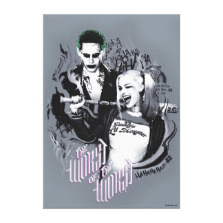 Suicide Squad   The Worst of The Worst Canvas Print