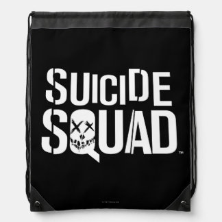 Suicide Squad | White Logo Backpack