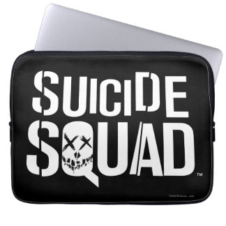 Suicide Squad | White Logo Computer Sleeve