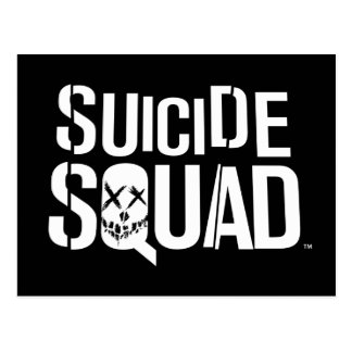 Suicide Squad | White Logo Postcard