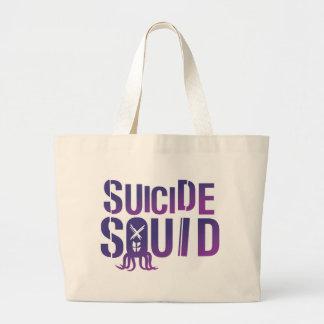 Suicide Squid Large Tote Bag