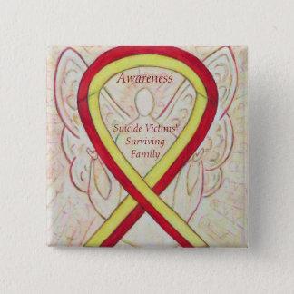 Suicide Victims' Surviving Family Ribbon Pins