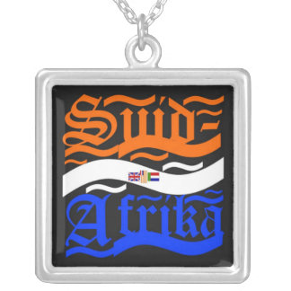 Suid-Afrika Silver Plated Necklace