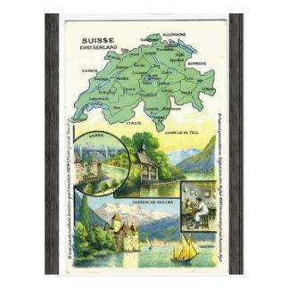 Suisse Zwitserland, Vintage Postcard