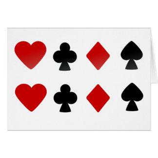 Suit Card Deck Symbols