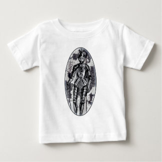 Suit of armor oval baby T-Shirt