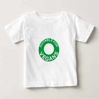 suitable for vegans baby T-Shirt