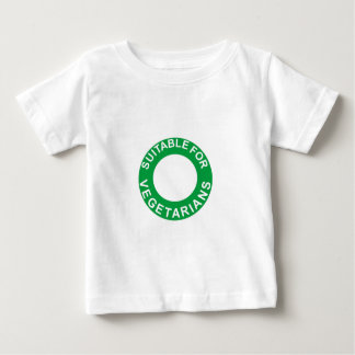 Suitable For Vegetarians Baby T-Shirt