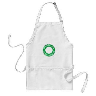 Suitable For Vegetarians Standard Apron