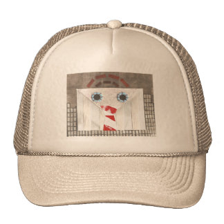 Suitcase Man Baseball Cap Trucker Hat