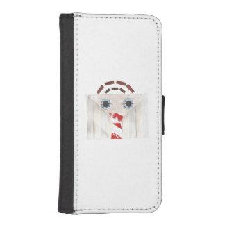 Suitcase Man I-Phone 5/5s Wallet Case