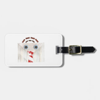 Suitcase Man Luggage Tag
