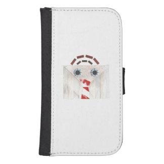 Suitcase Man Samsung Galaxy S4 Wallet Case