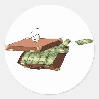 Suitcase Of Money Stickers