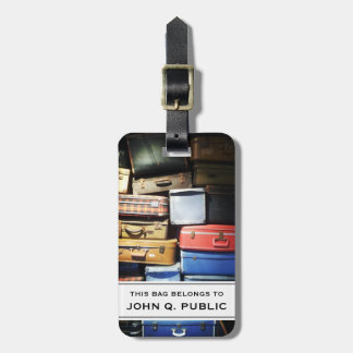 Suitcases Photograph Luggage Tag