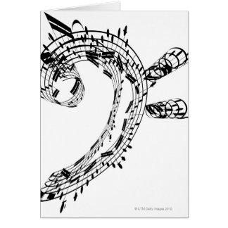 Suite de violoncelle de J.S.Bach Carte De Vœux