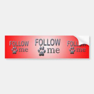Suivez-moi ! adhésifs pour voiture