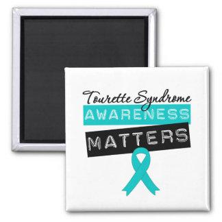 Sujets de conscience de syndrome de Tourette Magnets Pour Réfrigérateur
