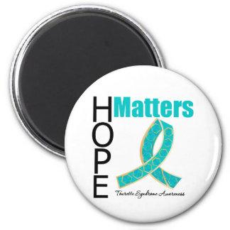 Sujets d'espoir de syndrome de Tourette Magnets Pour Réfrigérateur