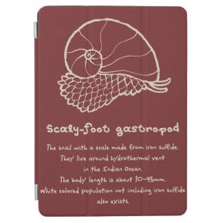 < sukerihutsuto (beige) > Scaly-foot gastropod iPad Air Cover