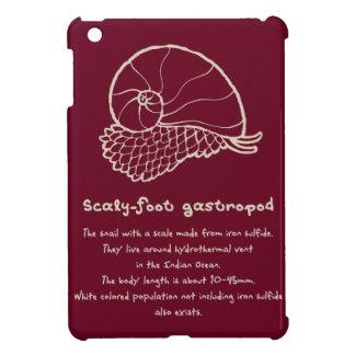 < sukerihutsuto (beige) > Scaly-foot gastropod iPad Mini Cover