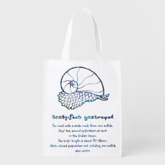 < sukerihutsuto (mother-of-pearl wind - blue > reusable grocery bag
