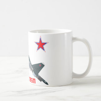 Sukhoi Su-30SM Flanker-C Russian Air Force Coffee Mug