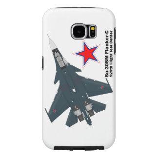 Sukhoi Su-30SM Flanker-C VKS Samsung Galaxy S6 Cases