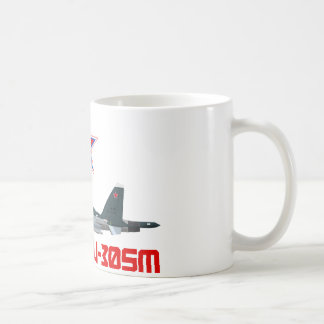 Sukhoi Su-30SM Russian Air Force VKS Coffee Mug
