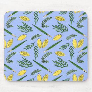 Sukkot Four Species Mousepad