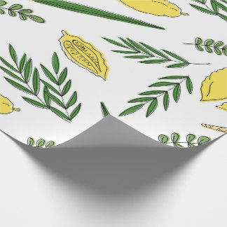 Sukkot Four Species Wrapping Paper