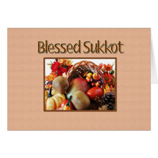 Sukkot Greeting Card