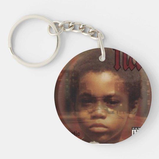 Sulayman's keyring Single-Sided round acrylic keychain